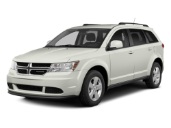 2014 DODGE JOURNEY SXT - Front View