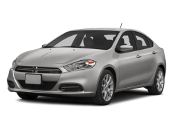 2014 DODGE DART  - Front View