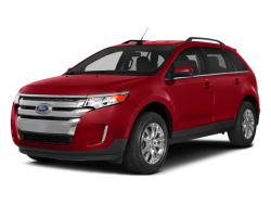 2014 FORD EDGE SEL - Front View
