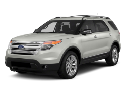 2014 FORD EXPLORER  - Front View
