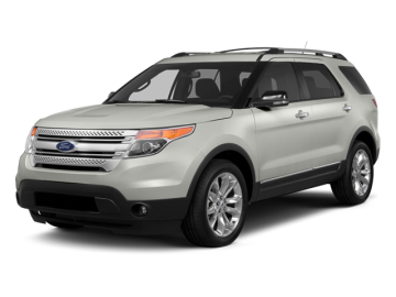 2014 FORD EXPLORER XLT - Front View