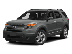 2014 FORD EXPLORER LIMITED - Front View