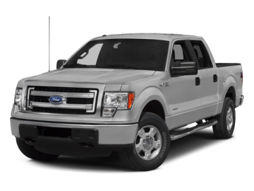2014 FORD F-150 SUPERCREW FX4 4X4 - Front View
