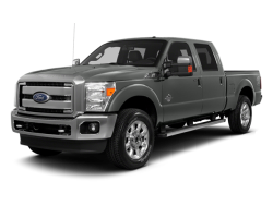 2014 FORD F-350  - Front View