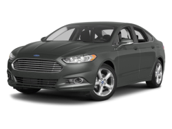 Used 2014 FORD FUSION SEDAN 4 DOOR - Front View