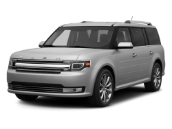 2014 FORD FLEX  - Front View