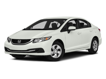 2014 HONDA CIVIC SEDAN LX - Front View