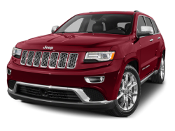 2014 JEEP GRAND CHEROKEE OVERLAND - Front View