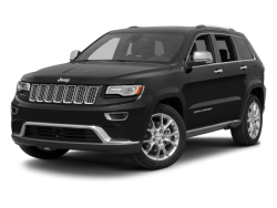 2014 JEEP GRAND CHEROKEE SUMMIT - Front View