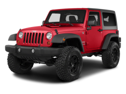 2014 JEEP WRANGLER  - Front View
