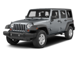 2014 JEEP WRANGLER UNLIMITED SAHARA - Front View