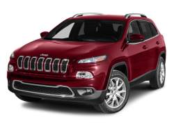 2014 JEEP CHEROKEE ALTITUDE - Front View