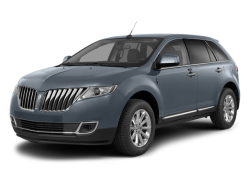 2014 LINCOLN MKX  - Front View