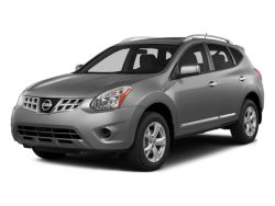 2014 NISSAN ROGUE  - Front View
