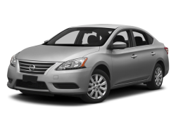 2014 NISSAN SENTRA S - Front View