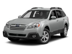2014 SUBARU OUTBACK  - Front View