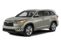2014 TOYOTA HIGHLANDER  - Front View