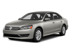 USED 2014 VOLKSWAGEN PASSAT SEDAN TDI SEL PREMIUM Burlington Washington - Front View