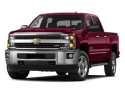 2015 CHEVROLET SILVERADO 2500HD  - Front View
