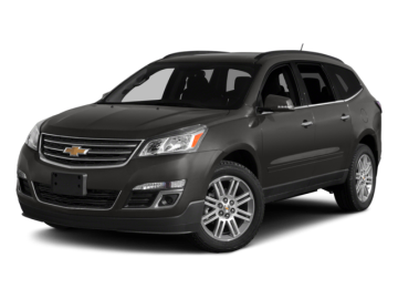 2015 CHEVROLET TRAVERSE LT AWD - Front View