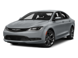 2015 CHRYSLER 200  - Front View
