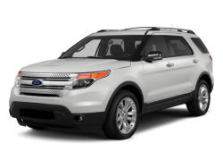 2015 FORD EXPLORER  - Front View