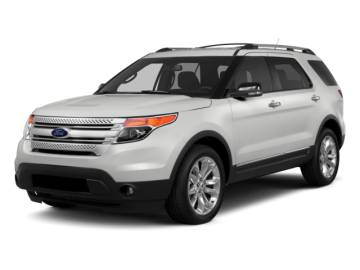 2015 FORD EXPLORER XLT - Front View