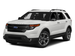 2015 FORD EXPLORER Sport - Front View