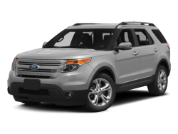 2015 FORD EXPLORER Limited - Front View