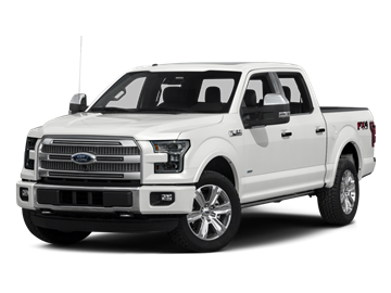 2015 FORD F-150 CREW XLT 4X4 - Front View