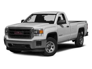 2015 GMC SIERRA 1500 1500 SLE - Front View