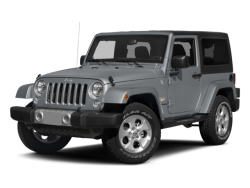 2015 JEEP WRANGLER  - Front View