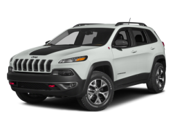 2015 JEEP CHEROKEE Trailhawk - Front View