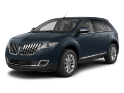 2015 LINCOLN MKX  - Front View