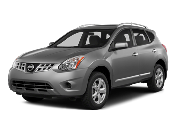 2015 NISSAN ROGUE S - Front View