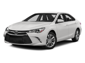 2015 TOYOTA CAMRY SE - Front View