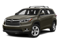 2015 TOYOTA HIGHLANDER  - Front View