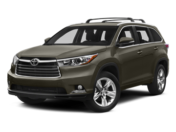 2015 TOYOTA HIGHLANDER Limited 4X4 - Front View