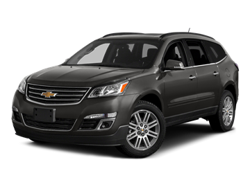 2016 CHEVROLET TRAVERSE LT - Front View