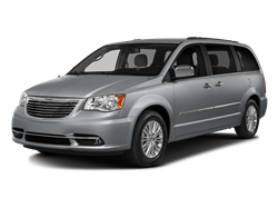 2016 CHRYSLER TOWN & COUNTRY TOURING - Front View