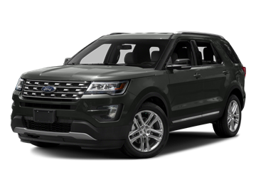 2016 FORD EXPLORER XLT - Front View