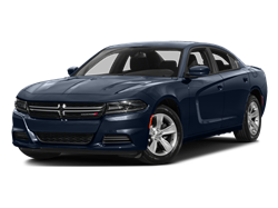 2017 DODGE CHARGER SXT AWD - Front View