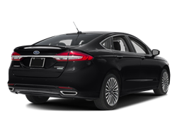 2017 FORD FUSION  - Rear View