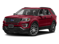 2017 FORD EXPLORER  - Front View