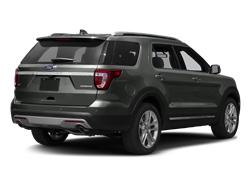 2017 FORD EXPLORER  - Rear View