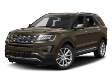 2017 FORD EXPLORER LIMITED - Front View