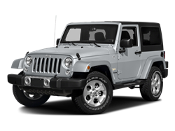 2017 JEEP WRANGLER UNLIMITED SAHARA - Front View