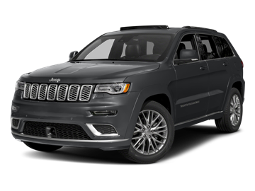 2017 JEEP GRAND CHEROKEE  - Front View