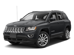 2017 JEEP COMPASS  - Front View