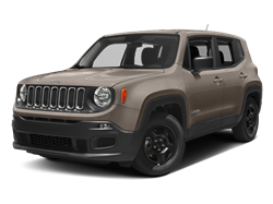 2017 JEEP RENEGADE  - Front View